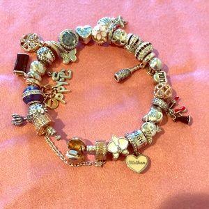 Pandora Jewelry - Pandora Silver Charm Bracelet